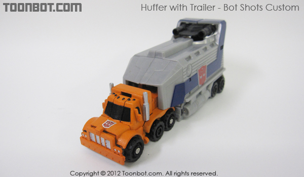 huffer with trailer